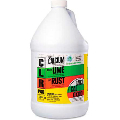 CLR Calcium, Lime And Rust Remover, Gallon Bottle - JELCL4PROEA