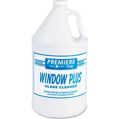 Kess Glass Cleaner, Gallon Bottle, 4 Bottles - WINDOWPLUS
