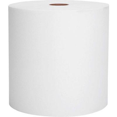 Scott® Nonperforated Paper Towel Rolls, 8 x 800', White, 12 Rolls/Case - KIM01040
