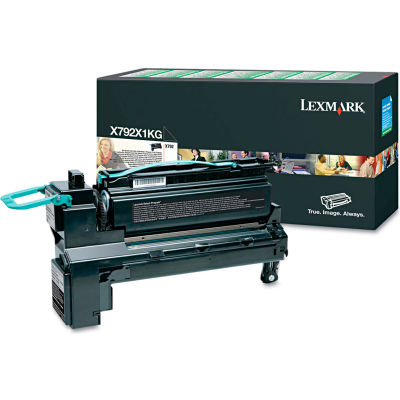 Lexmark™ X792X1KG Extra High-Yield Toner, 20,000 Page-Yield, Black