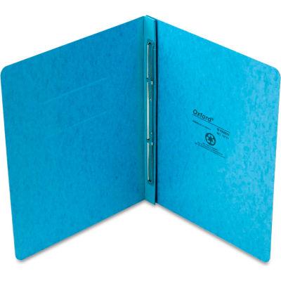 "Oxford® PressGuard Report Cover, Prong Clip, Letter, 3"" Capacity, Light Blue"