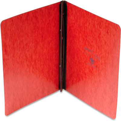 """Oxford® Pressboard Report Cover, 2 Prong Fastener, Letter, 3"""" Capacity, Red"""