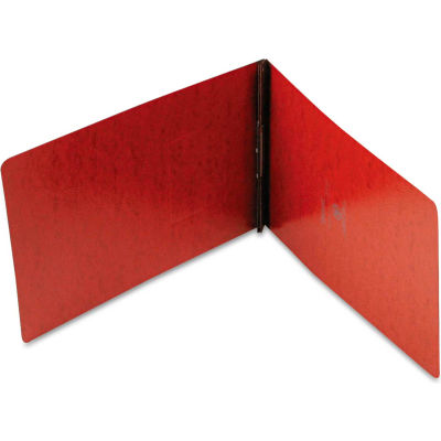 """Oxford® PressGuard Coated Report Cover, Prong Clip, Legal, 2"""" Capacity, Red"""