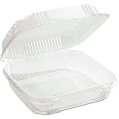 """Microwavable Container Combo 8-1/5"""" x 8-3/8"""" x 2-7/8"""" 49 Oz - 200 Pack"""