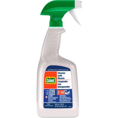 Comet® Cleaner with Bleach, 32 oz. Trigger Spray Bottle, 8 Bottles - 02287