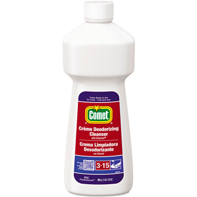 Comet® Deodorizing Soft Cleanser with Chlorinol, 32 oz. Bottle, 9 Bottles - 53835