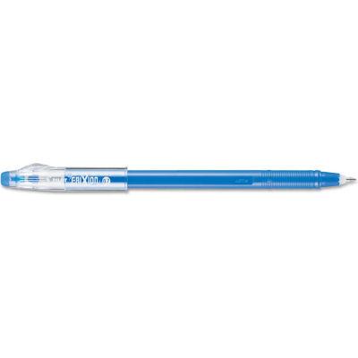 Pilot® FriXion ColorSticks Erasable Stick Gel Pen, 0.7mm, Blue Ink/Barrel, Dozen