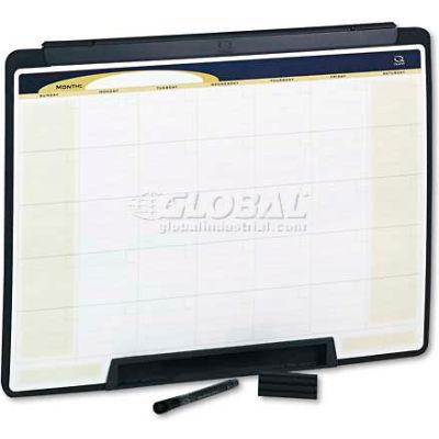 Quartet® Motion Portable Monthly Calendar, Dry Erase, 24 x 18