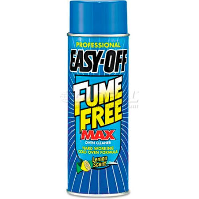 EASY-OFF Fume Free Max Oven Cleaner, 24 oz. Aerosol Can, 6 Cans - 74017