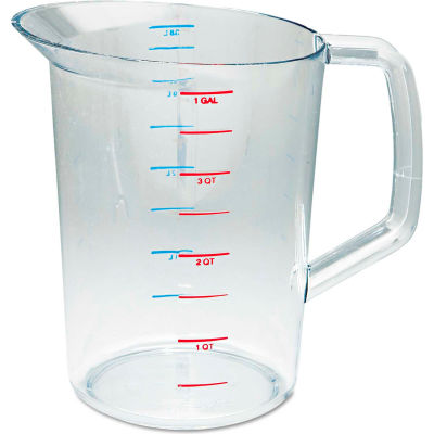 Rubbermaid® Commercial Bouncer Measuring Cup, 4 Qt., Clear