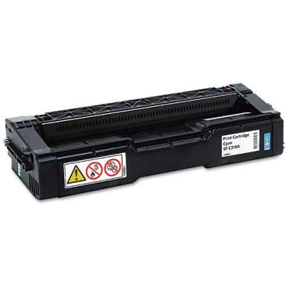 Ricoh® 406345 Toner Cartridge, 2500 Page Yield, Cyan