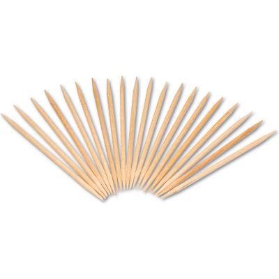 Royal RPPR820,  Round Wood Toothpicks, Natural, Plain, 19200/Carton
