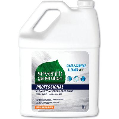 Seventh Generation® Professional Glass & Surface Cleaner, 1 Gallon Bottle, 2 Bottles - 44721