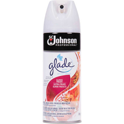 Glade Air Freshener Super Fresh Scent, 13.8 Oz. Aerosol 12/Case - 682262