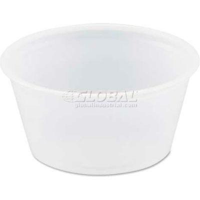 Dart® SCCB200N, Souffle/Portion Cups, Plastic, 2 oz., 2500/Carton