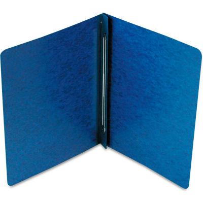 Smead® Side Opening PressGuard Report Cover, Prong Fastener, Letter, Dark Blue