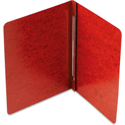 Smead® Side Opening PressGuard Report Cover, Prong Fastener, Letter, Red