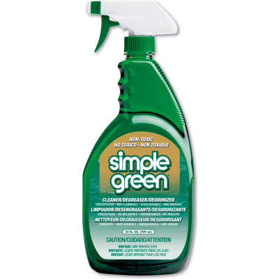 Simple Green® Industrial Cleaner & Degreaser, 24 oz. Bottle, 12 Bottles - 13012