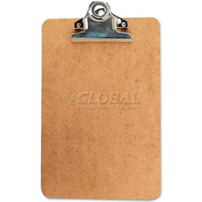 """Universal Clipboard w/High-Capacity Clip, 1"""" Capacity, Holds 6w x 9h, Brown"""