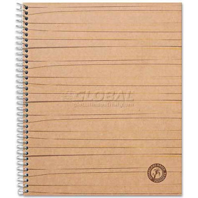 Universal One® Sugarcane Based Notebook, College Rule, 11 x 8-1/2, White, 100 Sheets/Pad