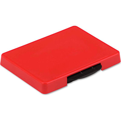 U. S. Stamp & Sign® Trodat T5460 Dater Replacement Ink Pad, 1 3/8 x 2 3/8, Red