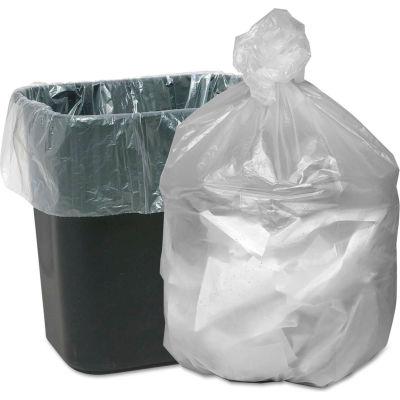 Good 'n Tuff® HD Waste Can Liners 7-10 Gallon 0.20 Mil, Natural 1000 Bags Bags/Box - WBIGNT2424