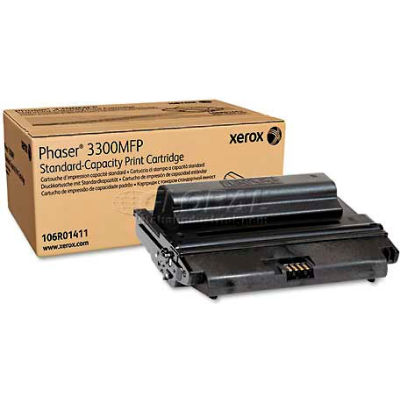 Xerox® 106R01411 Toner Cartridge, 4000 Page Yield, Black
