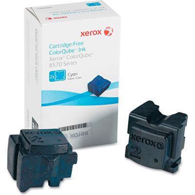 Xerox® 108R00926 Solid Ink Stick, 4,400 Page-Yield, Cyan, 2/Box