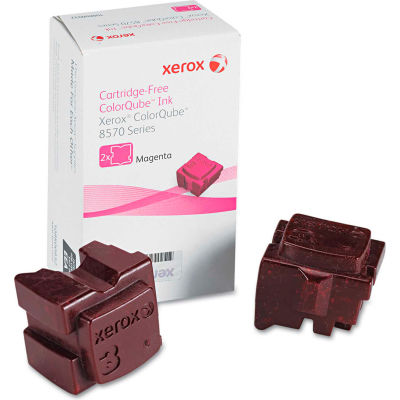 Xerox® 108R00927 Solid Ink Stick, 4,400 Page-Yield, Magenta, 2/Box