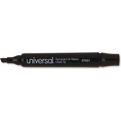 Permanent Marker, Chisel Tip, Low Odor, Nontoxic, Black Ink, Dozen