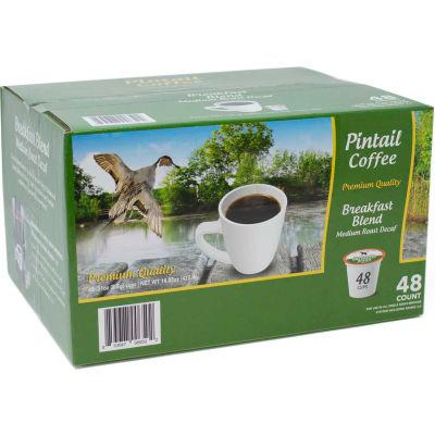 Pintail Coffee Breakfast Blend Decaffienated, Medium Roast, 0.53 oz., 48 K-Cups/Box - Pkg Qty 2