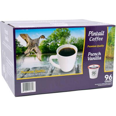 Pintail Coffee French Vanilla, Medium Roast, 0.53 oz., 96 K-Cups/Box
