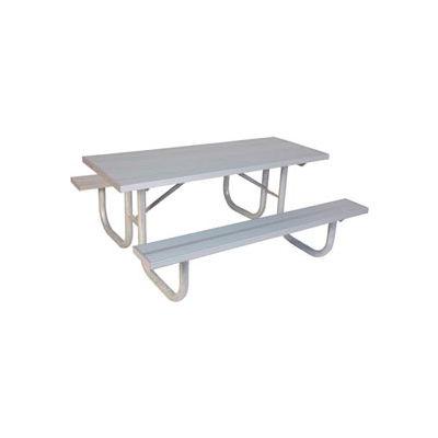 """6' Extra Heavy Duty Table, Aluminum 72""""L x 68""""W"""