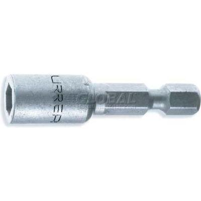 "Urrea Metric Power Nut Driver, 10116, 1/4"" Drive, 10 mm Tip, 1-7/8"" Long"