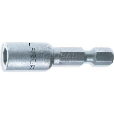 "Urrea SAE Power Nut Driver, 10592, 1/4"" Drive, 7/16"" Tip, 1 7/8"" Long"