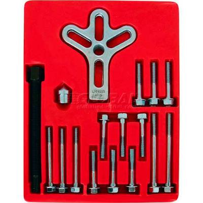 Urrea Harmonic Balancer Puller Set, 4205, 17 Pieces