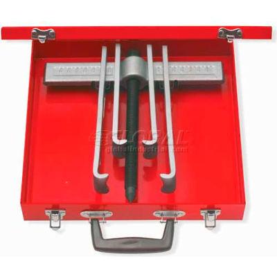 Urrea Straight Jaw Puller Set 4232SJB, 10 Ton, 2-Way 4 Jaws, 8 Pieces