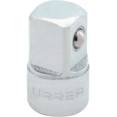 "Urrea Adapter, 5253, 3/8 F X 1/2 M"" Drive, 1"" Long"