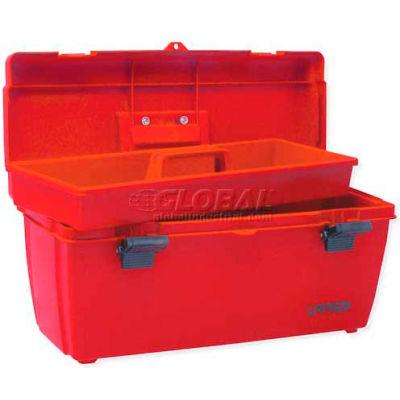 """Urrea Plastic Tool Box, 9901, 20-14""""L x 8-3/8""""W x 8-3/8""""H"""