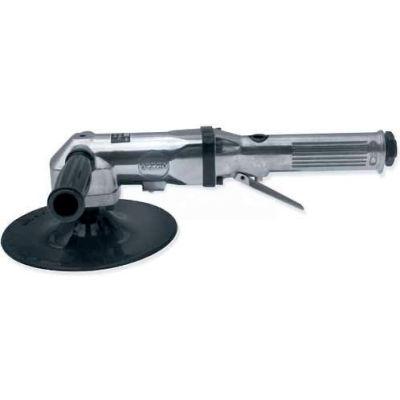 """Urrea Heavy Duty 7"""" Angle Polisher UP869P, 2500 RPM, 3/8"""" Hose ID, 1/4"""" Air Intake"""