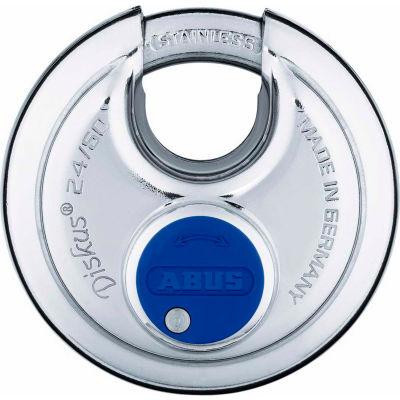 ABUS All Weather Steel Diskus Padlock 24IB/50 KA Keyed Alike - Pkg Qty 6