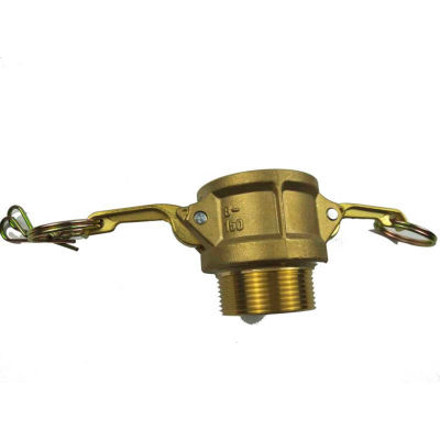 """1"""" Brass Type B Coupler with Threaded NPT Male End"""