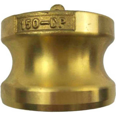 "3/4"" Brass Type DP Adapter with Dust Plug"