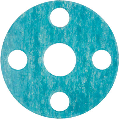 """Full Face Aramid Flange Gasket for 1-1/2"""" Pipe-1/8"""" Thick - Class 150"""