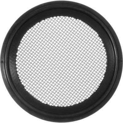 """FDA EPDM Sanitary Gasket with Screen For 4"""" Tube - 20 Mesh"""