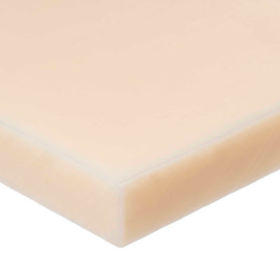 "Nylon Plastic Sheet - 2"" Thick x 8"" Wide x 48"" Long"