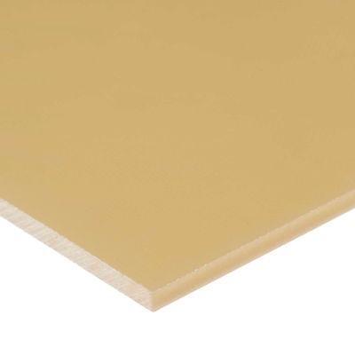 "PEEK Plastic Sheet - 1"" Thick x 12"" Wide x 12"" Long"