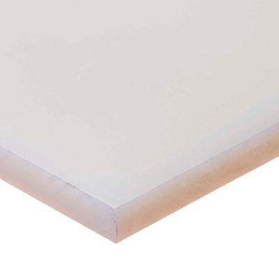 "Polypropylene Plastic Sheet - 1-1/2"" Thick x 24"" Wide x 24"" Long"
