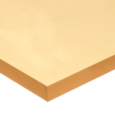 "Natural Rubber Sheet with Acrylic Adhesive - 40A - 1/4"" Thick x 36"" Wide x 36"" Long"