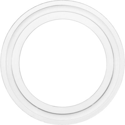 "Clean Room Medical Grade Silicone Sanitary Gasket For 1.5"" Tube"